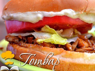 Хамбургер с ягодово-горчичен свински бут