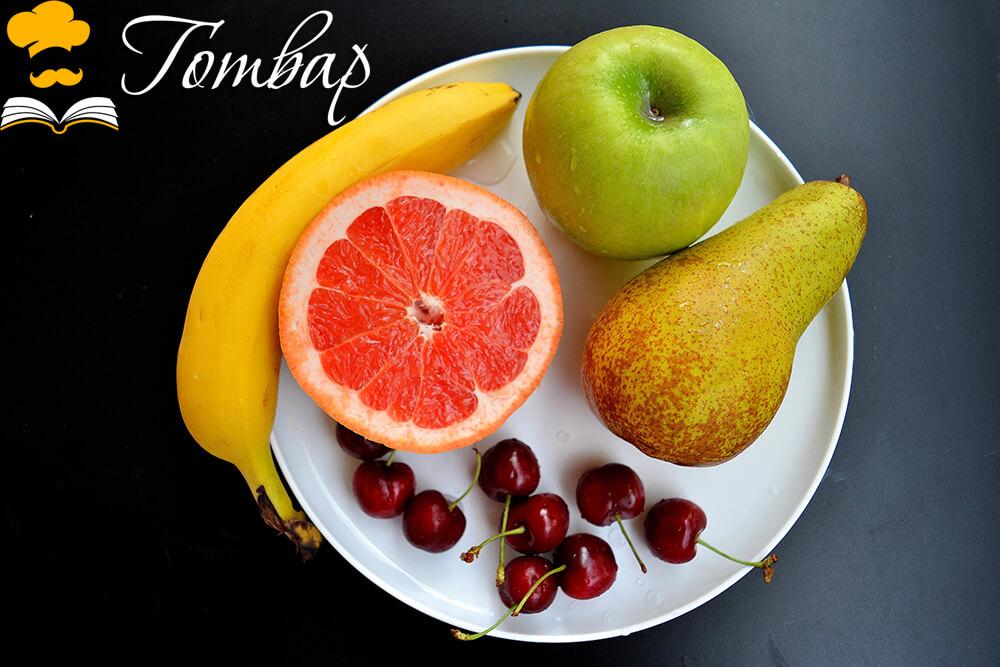 Готвар - Плодова салата с фреш от грейпфрут