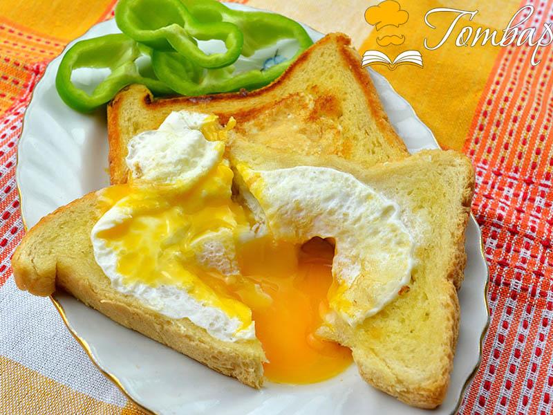 Закуска за 10 минути – Яйце във филийка
