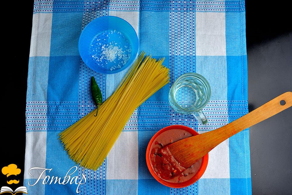 Готвар, рецепта - Бързи спагети с пикантен сос