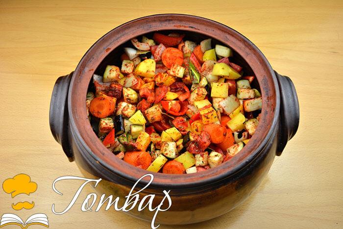 Готвар, рецепта, рецепти, готвене, продукти - Печен свински джолан със зеленчуков гювеч