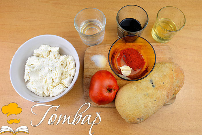 продукти Готвар, рецепта, рецепти, готвене, продукти - Шопски хайвер с чабата, домати и балсамико
