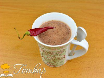 Домашен топъл шоколад с чили