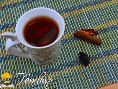 Ошав от сушени плодове, карамел и канела
