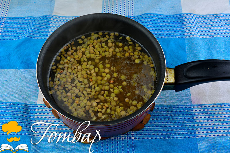сваряване на леща за салата рецепта готвар