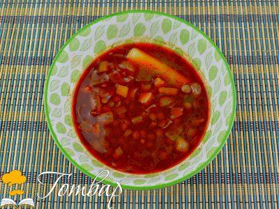 Супа от леща на баба Ленче
