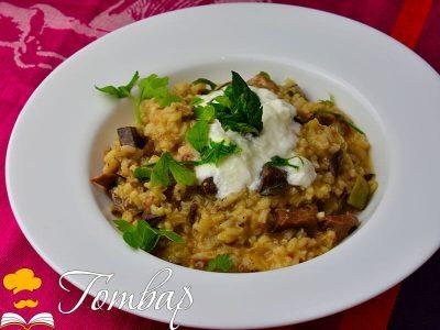 Задушен ориз с агнешко и дреболии
