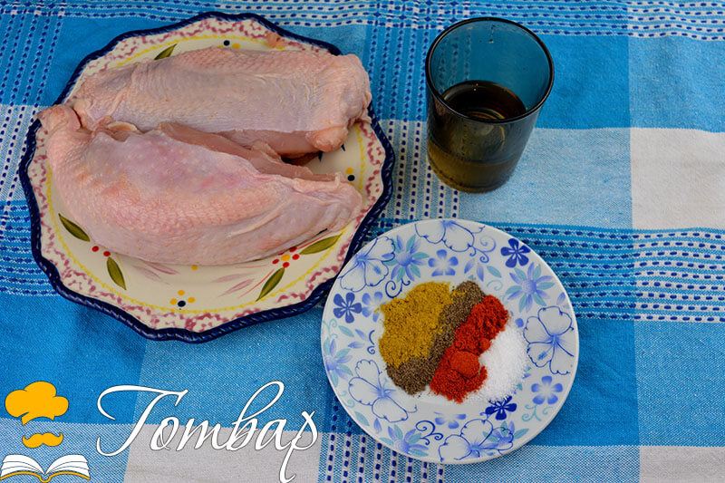 Пилешко месо с борови шишчета