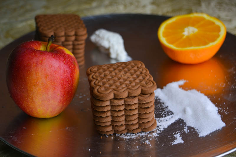 рецепта за бърза бисквитена торта