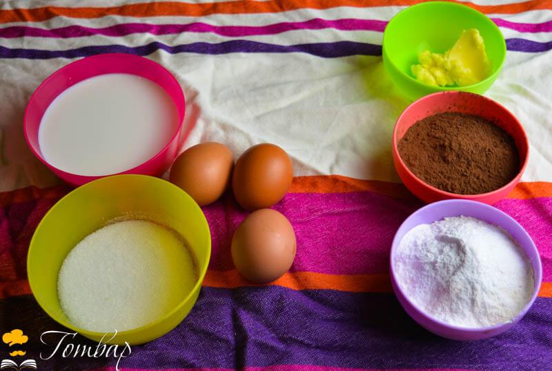 Шоколадови мъфини продукти рецепта